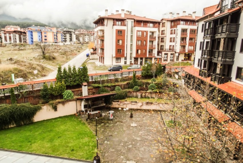 PBA1017 2 bed flat for sale in bansko