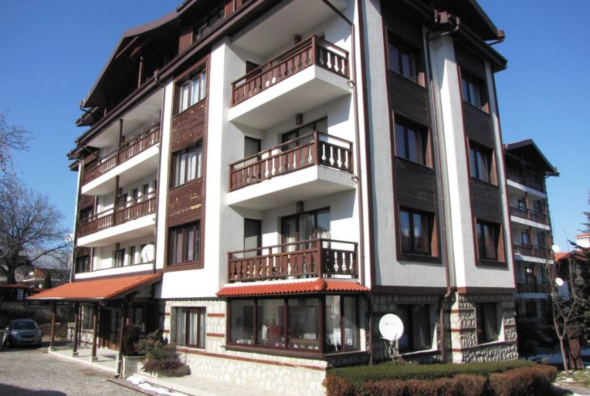 PBA1028 Quality 1 bed apartment for sale in Bansko