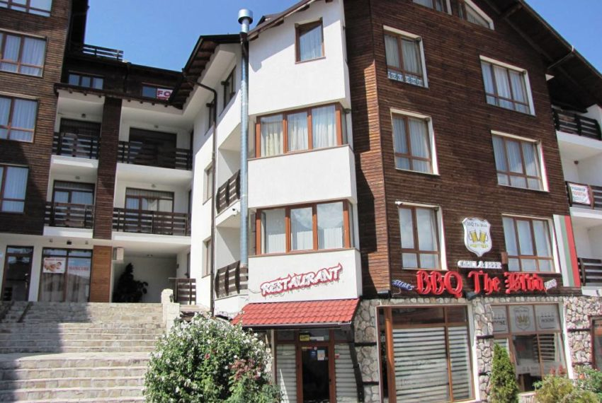 1 bed apartment for sale in Pirin Palace Bansko