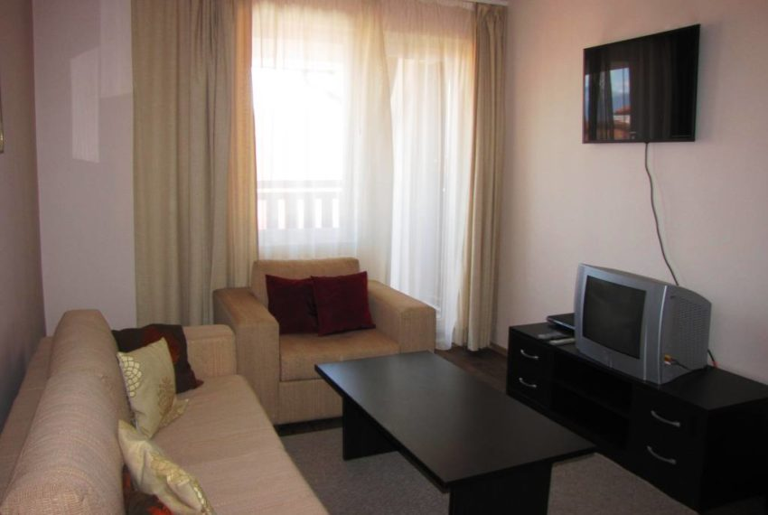 PBA1080 1 bed apartment in Bansko Royal Towers for sale