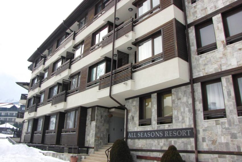 Studio for sale in All Seasons Resort Bansko