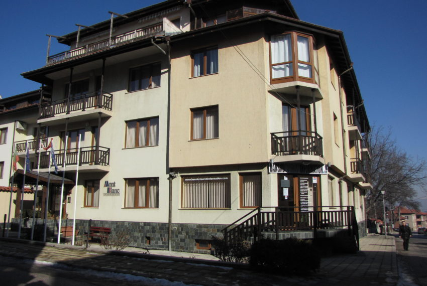 PBA1095 1 bedroom apartment for sale in MontBlanc Bansko
