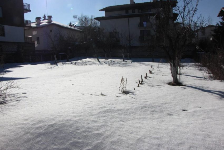 Regulated plot of land for sale in Bansko