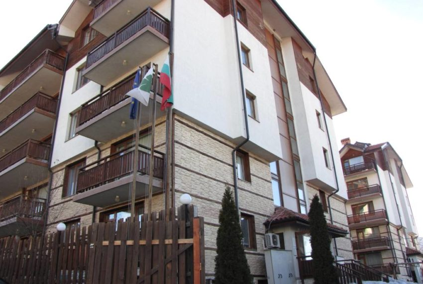Studio apartment for sale in Four Leaf Clover Bansko