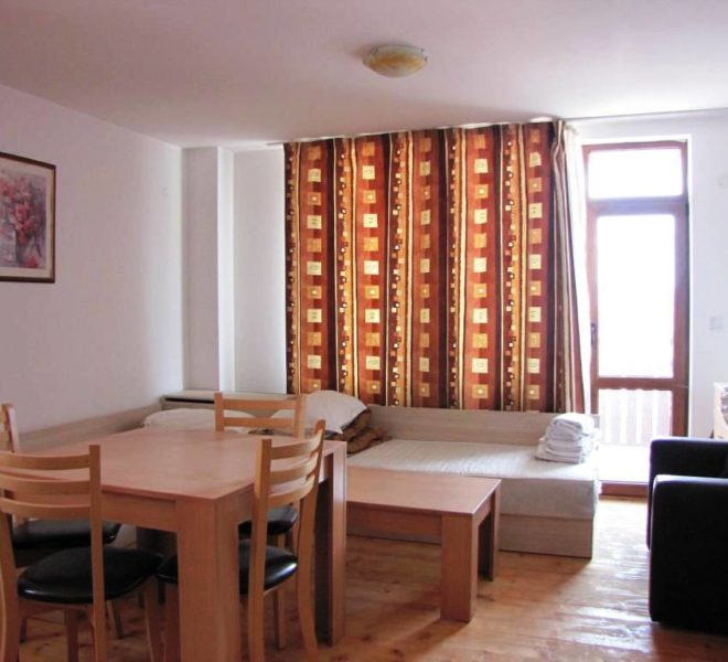 PBA1117 Studio apartment for sale in Four Leaf Clover Bansko
