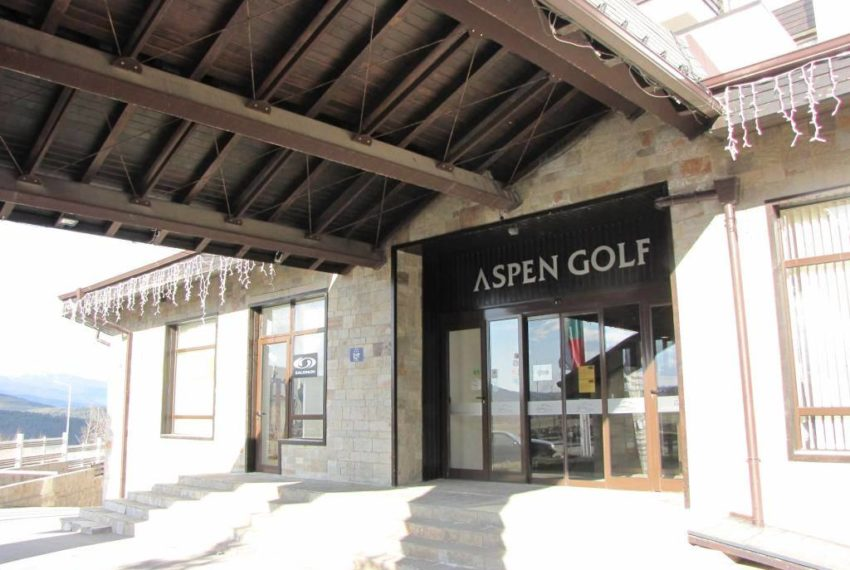 PBA1120 Studio for sale in Aspen Golf near Bansko