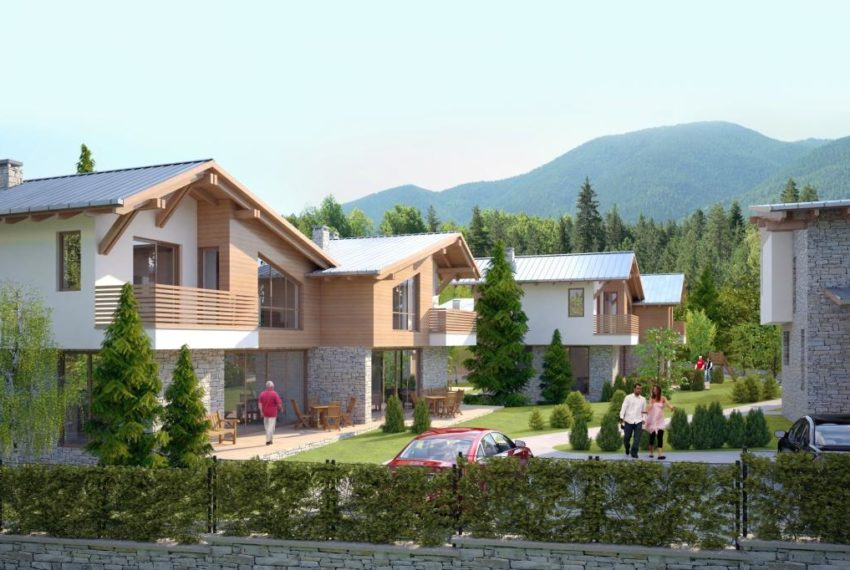 PBH1122 New Build Houses for Sale in Bansko