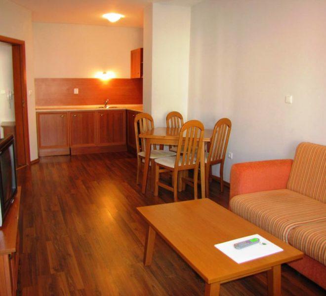 PBA1124 1 bed apartment for sale in Evergreen Aparthotel Bansko