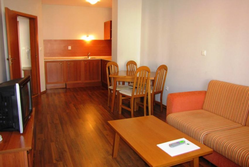 PBA1124 1 bed apartment for sale in Evergreen Aparthotel Bansko