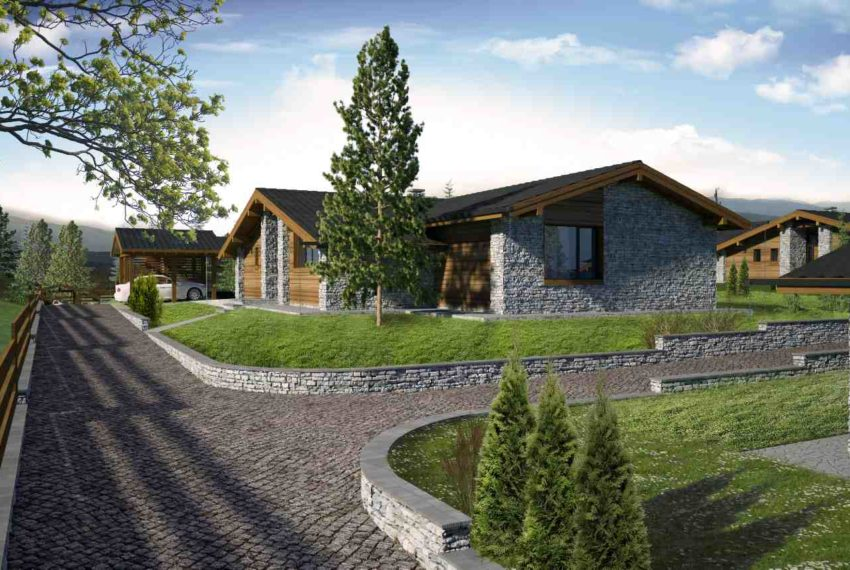 PBH1132 Luxury New Houses for sale in Pirin Golf Area near Bansko