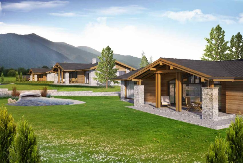 PBH1132 Luxury New Houses for sale near Pirin Golf Course