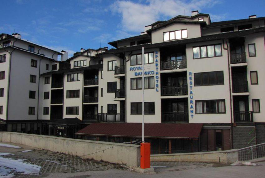 PBA1142 1 bedroom apartment for sale in Royal Bansko