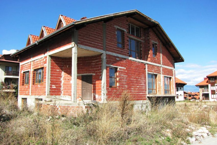 PBH1159 Unfinished chalet for sale in Bansko