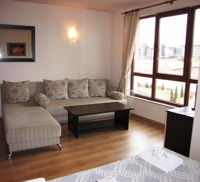 PBA1164 Studio apartment for sale in Greenwood Hotel & Spa near Bansko