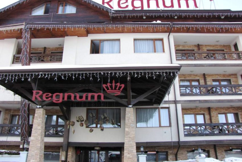 1 bedroom apartment for sale in Regnum 5* Aparthotel Bansko