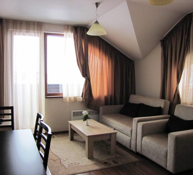 PBA1169 1 bedroom apartment for sale in Regnum 5* Aparthotel Bansko
