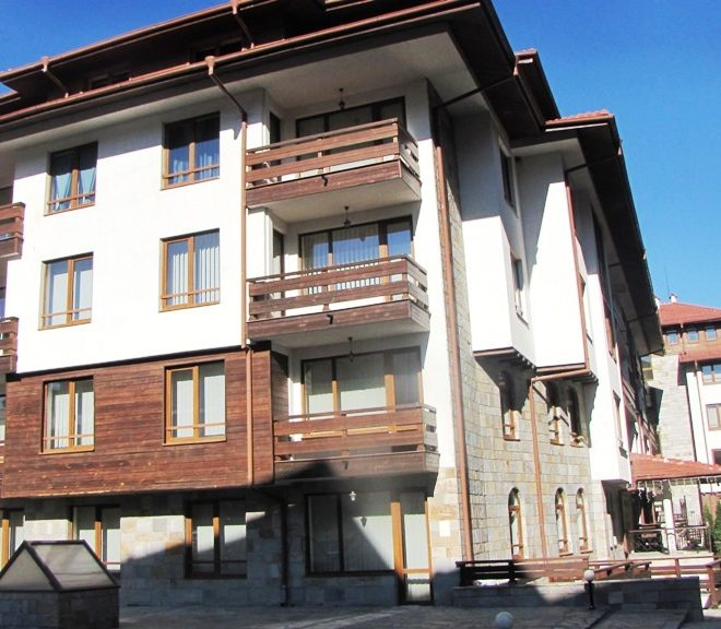 PBA1178 1 bedroom apartment for sale in Cedar Lodge 3, Bansko
