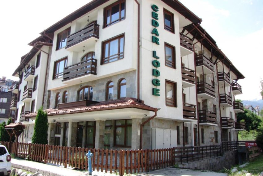 PBA1179 1 bed apartment for sale in Cedar Lodge 1, Bansko