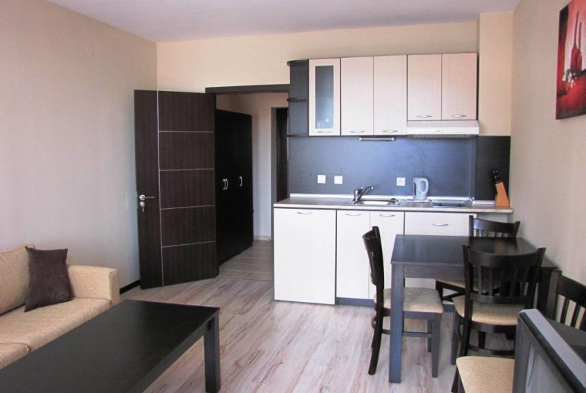 PBA1190 Studio apartment for sale in All Seasons Resort, Bansko