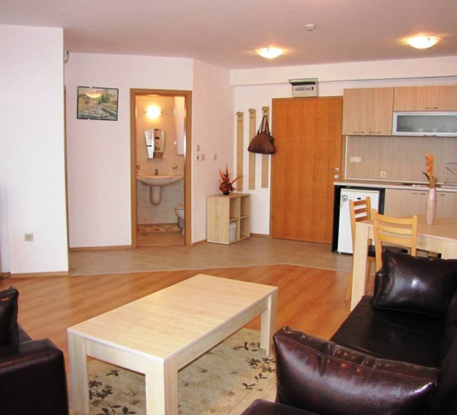 PBA1195 1 bedroom apartment for sale in Aspen Golf near Bansko