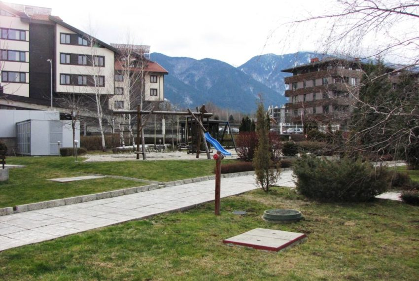 PBA1196 Studio for sale in Aspen Golf near Bansko