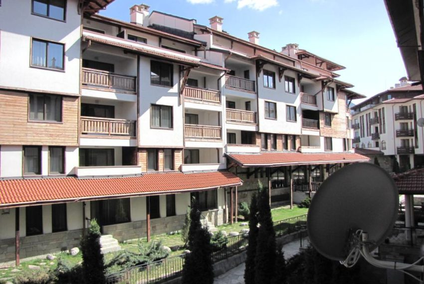 PBA1203 1 bedroom apartment in Cedar Lodge Bansko for sale
