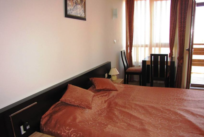 PBA1205 Studio for sale in Greenwood Hotel & Spa near Bansko