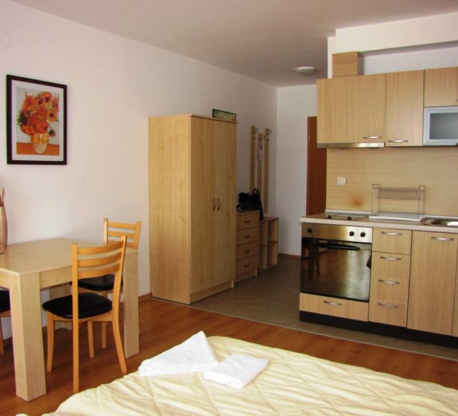 PBA1220 Studio apartment for sale in Aspen Golf, Bansko