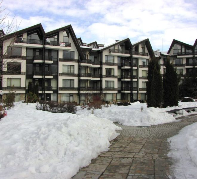 Studio for sale in Aspen Golf near Bansko