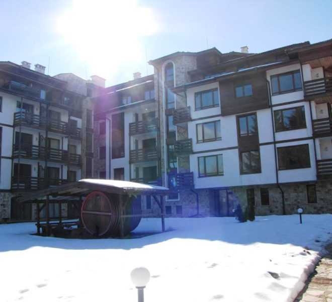 PBA1226 1 bed apartment for sale in Sapphire, Bansko