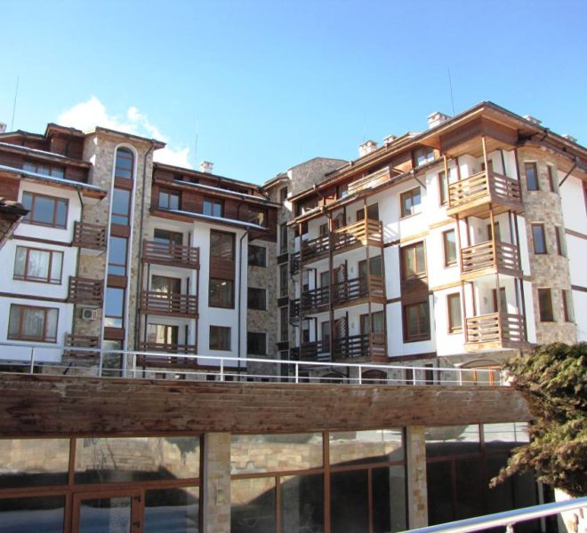 PBA1225 1 bed apartment for sale in Sapphire Residence, Bansko