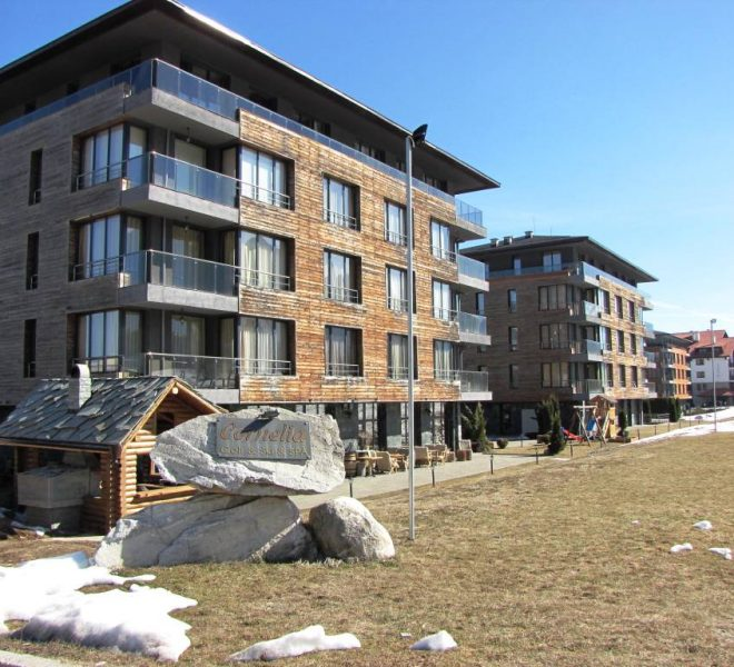 2 bedroom apartment for sale in Cornelia Boutique Hotel & Spa near Bansko