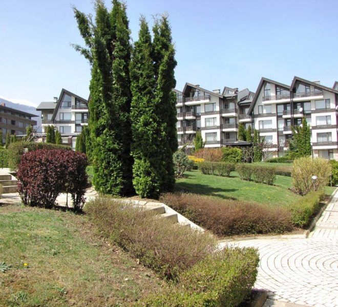 PBA1240 studio for sale in Aspen Golf near Bansko
