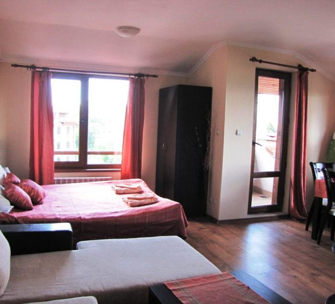 PBA1247 studio for sale in Sapphire Residence Bansko