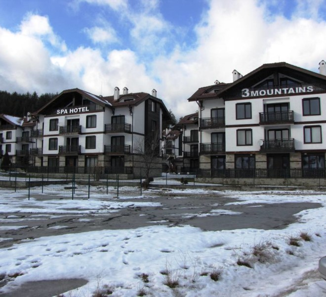 PBA1021 2 bed flat for sale in bansko