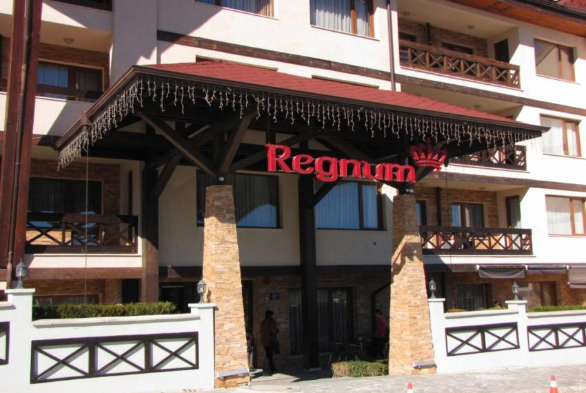 PBA1091 1 bedroom apartment for sale in Regnum Bansko
