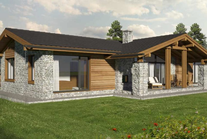 Luxury New Houses for sale in Pirin Golf Area near Bansko