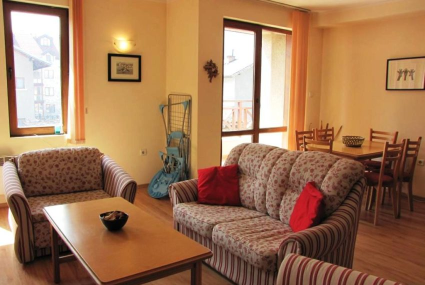 PBA1131 3 bed 3 bath duplex for sale in Snow House, Bansko