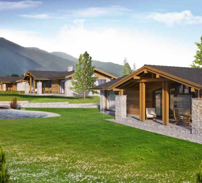 PBH1132 Luxury New Houses for sale near Pirin Golf Course