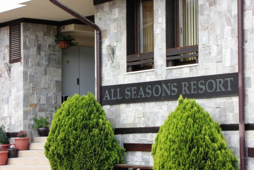 PBA1190 Studio apartment for sale in All Seasons Resort, Bansko