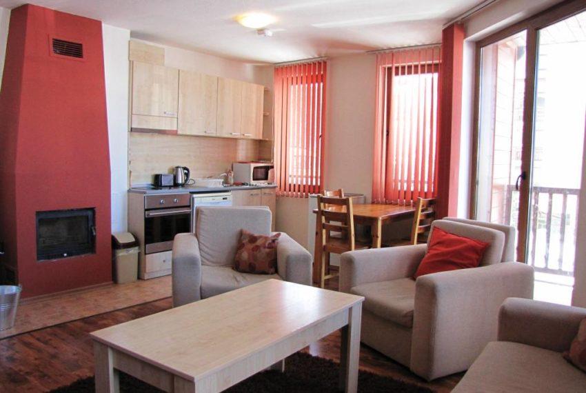 PBA1211 2 bedroom apartment for sale in Mountain Dream Bansko
