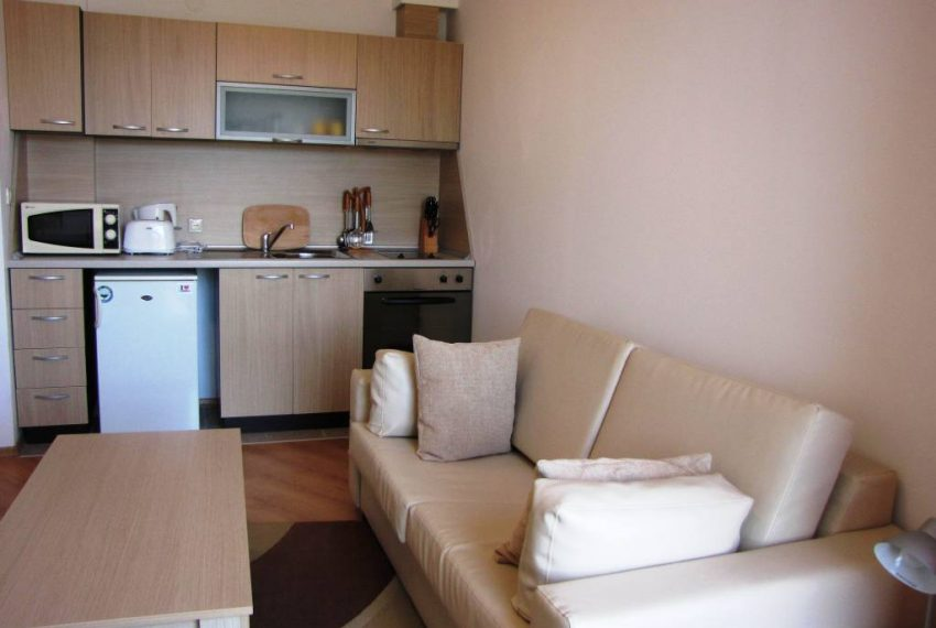 PBA1239 studio for sale in Aspen Golf Resort near Bansko