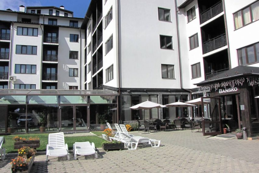 PBA1258 1 bedroom apartment for sale in Royal Bansko Aparthotel
