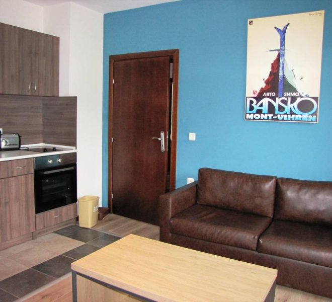 PBA1261 2 bedroom apartment for sale in Royal Bansko Aparthotel