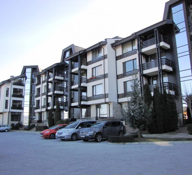 PBA1262 Studio apartment for sale in Aspen Suites near Bansko