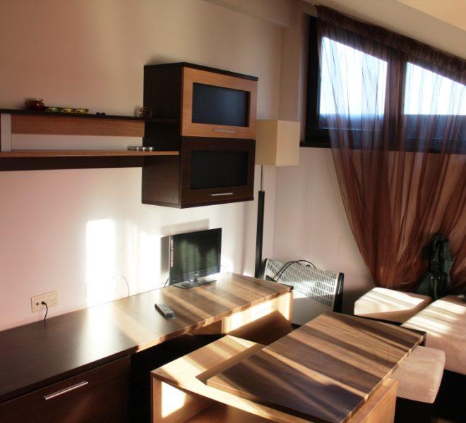 PBA1268 1 bedroom apartment for sale in Hotel Alexander near Bansko