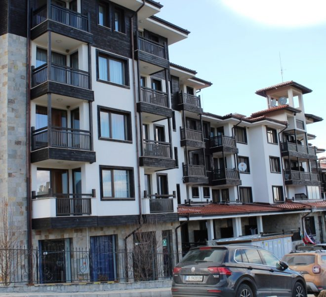 PBA1281 Studio apartment for sale in St George Ski & Spa Bansko