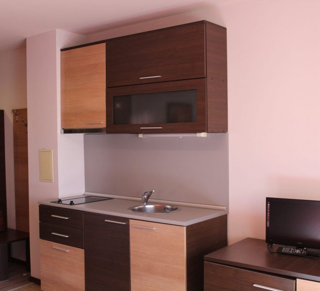 PBA1318 Studio apartment for sale in Hotel Alexander near Bansko