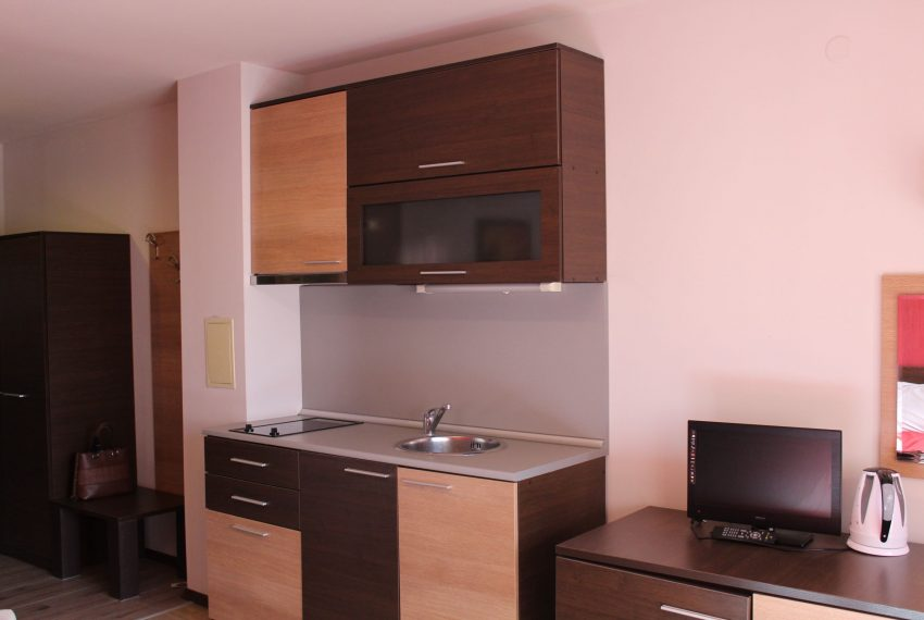 PBA1318 Studio apartment for sale in Hotel Alexander near Bansko
