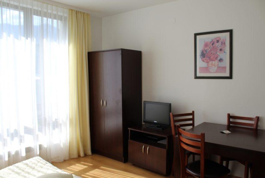 Studio apartment for sale in Aspen Golf near Bansko